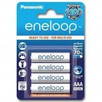 Акумулятор PANASONIC Eneloop AAA 750mAh NI-MH * 4 (BK-4MCCE/4BE) (поштучно)