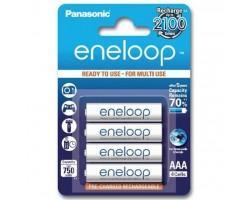 Акумулятор PANASONIC Eneloop AAA 750mAh NI-MH * 4 (BK-4MCCE/4BE)