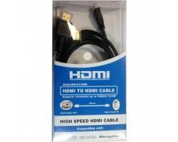 Кабель мультимедійний HDMI A to HDMI D (micro), 3.0m Atcom (15269)
