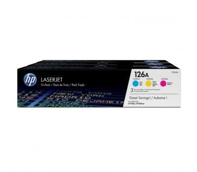 Картридж HP CLJ 126A CYM Tri-Pack, CP1025/M175 (CE311A,CE312A,CE313A) (CF341A)