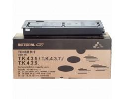 Тонер-картридж Integral Kyocera TK-435 chip, Black, 800г (12100040C)