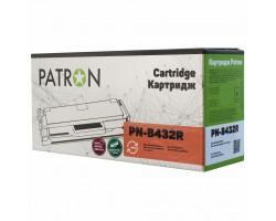 Тонер-картридж PATRON OKI B412/B432/MB472/MB492/MB562, 45807120 Extra (PN-B432R)