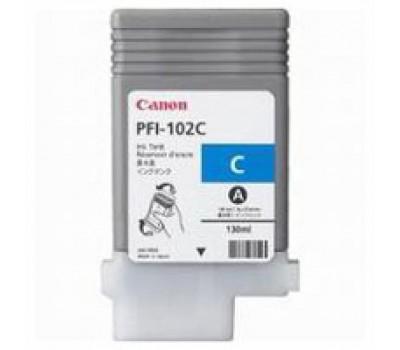 Картридж Canon PFI-102C (cyan) iPF500/600/700 (0896B001)