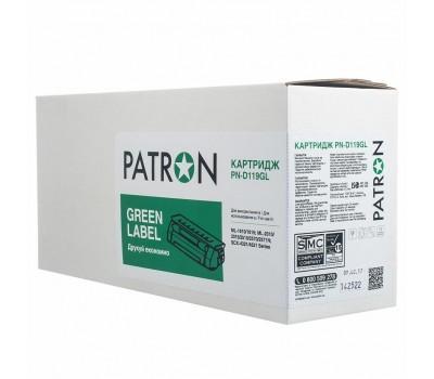 Картридж PATRON SAMSUNG MLT-D119S ML-1610/ML-2010/SCX-4521 GREEN Label (PN-D119GL)