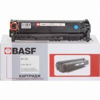 Картридж BASF для HP CLJ M351a/M475dw аналог CE411A Cyan (KT-CE411A)