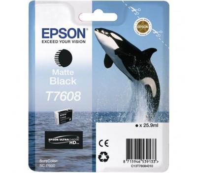 Картридж EPSON SureColor SC-P600 matte black (C13T76084010)