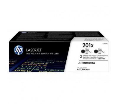 Картридж HP CLJ 201X Black 2-pack (CF400XD)