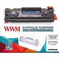 Картридж WWM для Canon 737/ HPCF283X (CNT737EW)