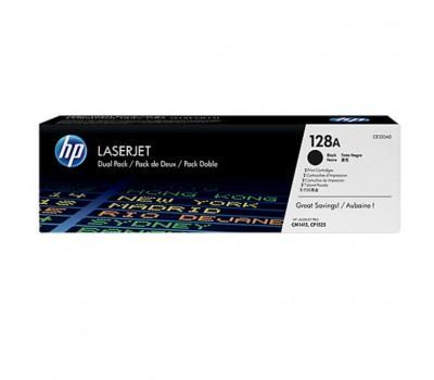 Картридж HP CLJ 128A black DUAL PACK CP1525n/1525nw, CM1415fn/1415fnw (CE320AD)