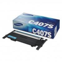 Картридж Samsung CLP-320/320N/325, CLX-3185 cyan, CLT-C407S (ST998A)
