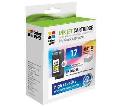 Картридж ColorWay HP №17 color (C6625A) (CW-H17C)