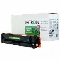 Картридж PATRON HP CLJ CF411A, для Pro M452/M477 Cyan, GREEN Label (PN-410ACGL)
