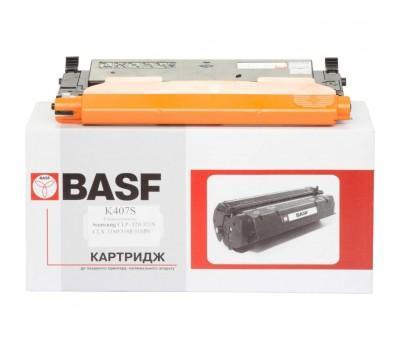 Картридж BASF для Samsung CLP-320/320N/325/CLX-3185 Black (KT-CLTK407S)