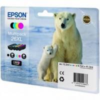 Картридж EPSON 26XL XP600/605/700 Bundle (C13T26364010)