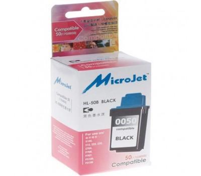 Картридж MicroJet LEXMARK Z12/22/32 (17G0050) Black (HL-50B)