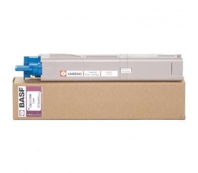 Картридж BASF для OKI C3300/3400 аналог 43459343 Cyan (WWMID-78302)