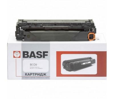 Картридж BASF для HP CLJ CP1525n/CM1415fn аналог CE320A Black (KT-CE320A)