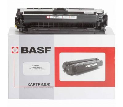 Картридж BASF для HP LJ M552/M553/M577 аналог CF361A Cyan (KT-CF361A)
