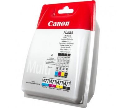 Картридж Canon CLI-471 Multi Pack (0401C004)