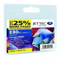 Картридж Jet Tec Epson StPh P50/PX660/PX720WD Yellow (110E008004)