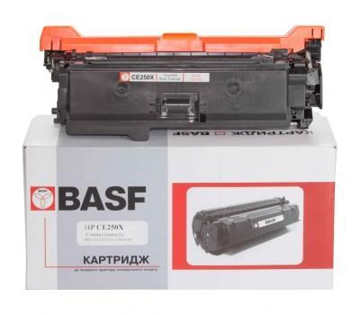 Картридж BASF для HP CLJ CM3530/CP3525 аналог CE250X Black (KT-CE250X)