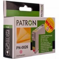 Картридж PATRON для EPSON R270/290/390/RX590 LIGHT MAGENTA (PN-0826) (CI-EPS-T08164-LM3-PN)