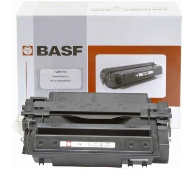 Картридж BASF для HP LJ 2410/2420/2430 аналог Q6511X Black (KT-Q6511X)