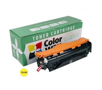 Картридж ColorWay для HP CLJ M351/M451 Yellow (CE412A) (CW-H412YM)