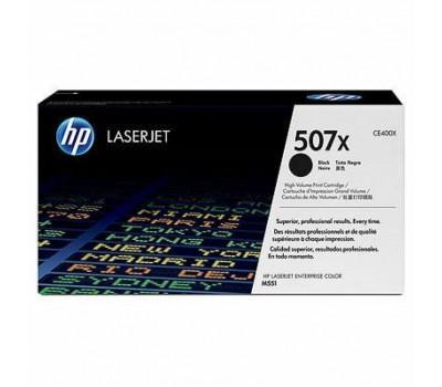 Картридж HP CLJ 507X blackXL, для Enterprise 500 ColorM551 (CE400X)