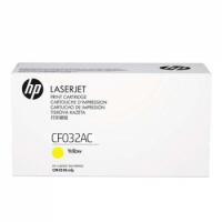 Картридж HP CLJ CF032AC Yellow