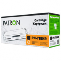 Картридж PATRON CANON 718 (PN-718KR) BLACK Extra
