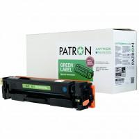 Картридж PATRON HP CLJ CF401A для M252/M274/M277 Cyan, GREEN Label (PN-201ACGL)