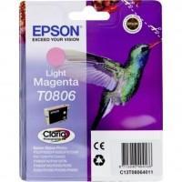 Картридж EPSON StPhoto P50/PX660/PX720/PX820 light magenta new (C13T08064011)
