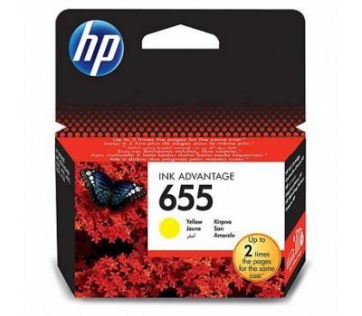 Картридж HP DJ No.655 Yellow DJ4615/4625/3525 (CZ112AE)