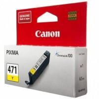 Картридж Canon CLI-471Y Yellow (0403C001)