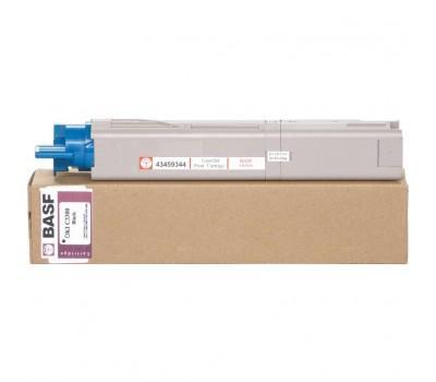 Картридж BASF для OKI C3300/3400 аналог 43459348 Black (KT-C3300B-43459348)