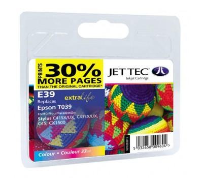 Картридж Jet Tec Epson Stylus C41/C43/C45 Color (110E003913)