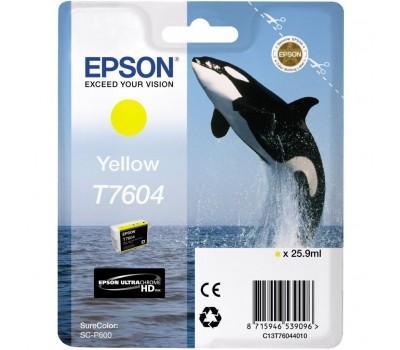 Картридж EPSON SureColor SC-P600 yellow (C13T76044010)