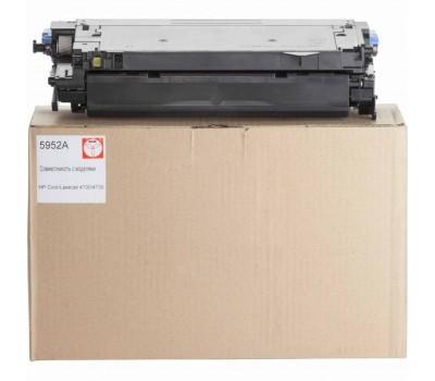 Картридж BASF для HP CLJ 4700 аналог Q5952A Yellow (KT-Q5952A)