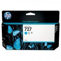 Картридж HP DJ No.727Cyan DesignJet T1500/T920/ 130 ml (B3P19A)