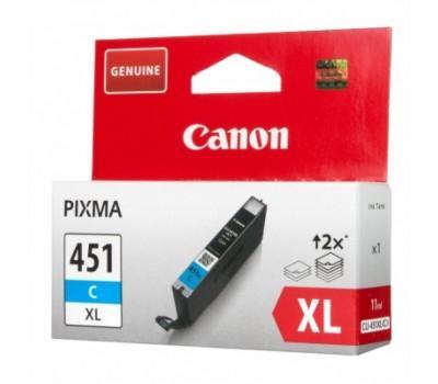 Картридж Canon CLI-451C XL Cyan (6473B001)