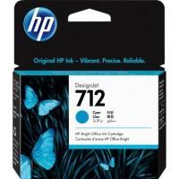 Картридж HP DJ No.712 DesignJet Т230/Т630 Cyan 29ml (3ED67A)