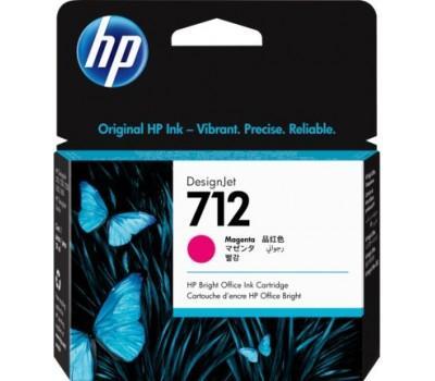 Картридж HP DJ No.712 DesignJet Т230/Т630 Magenta 29ml (3ED68A)