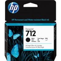 Картридж HP DJ No.712 DesignJet Т230/Т630 Black 80ml (3ED71A)