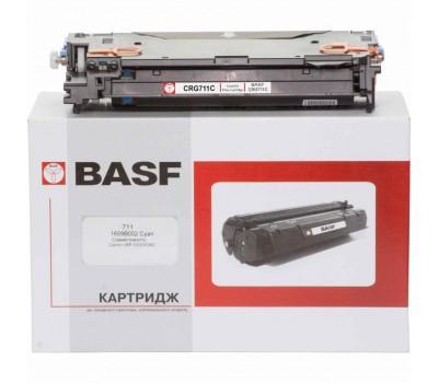 Картридж BASF для Canon LBP-5300/5360 аналог 1659B002 Cyan (KT-711-1659B002)