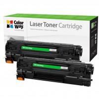 Картридж ColorWay для HP LJ P1005 (CB435AF/CB436A/CE285A)Can.712/725 DUAL PACK (CW-H435/436FM)