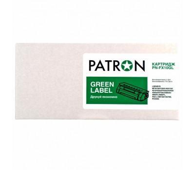 Картридж PATRON CANON FX-10 GREEN Label (для MF4120/ 4140) (PN-FX10GL)