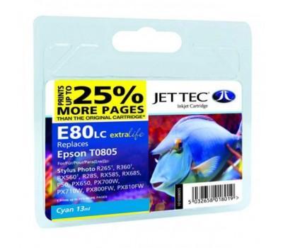Картридж Jet Tec Epson StPh P50/PX660/PX720WD Cyan (110E008002)