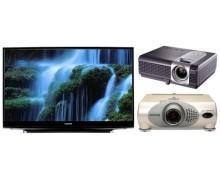 Телевізори та проектори