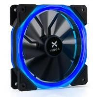 Кулер до корпусу Vinga LED fan-02 blue